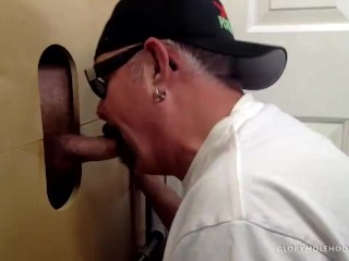 Sword and magic porn business man get nut drained at gloryhole cock sucking machine amateu