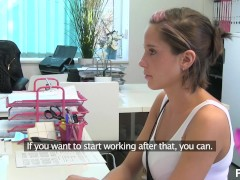 Pornhub Agent – Amateur Anabelle Lili in her First Casting trailer preview