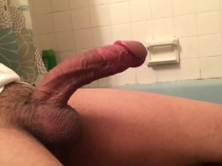 Jerking off my Cock