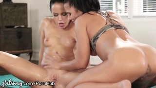 Girlsway Sooo Much SQUIRTING!!!! Bangbros pornstar