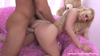 Interview with cutie vanessa blonde and fucking cage tits vanessafucks