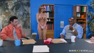 Britney Amber gets gang banged Brazzers
