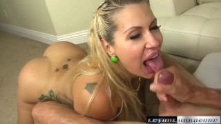 Pornstar Savana loves having her thick ass spread and her pussy fucked