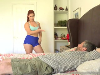 Cuckold wimp licks shoes