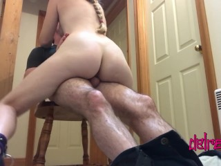 Sexy Blonde Gets Tied Up And Used During Honeymoon