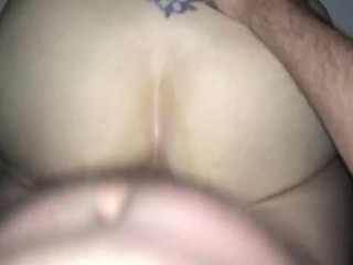 Wife takes huge cock and loves every second