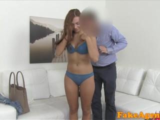 Teen Massage Handjob Pornhub Fakeagent Shy Fit Redhead Amateur Loves Sucking Cock On Camera, Amateur Blowjob