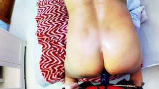 Horny Milf Pegging Hard Husband tight ass. Ass licking fingering submission  pegging his ass huge strapon pegging strapon femdom amateur amateur pegging rimming fingering female domination adult toys anal orgasm ass licking homemade femdom pegging cum