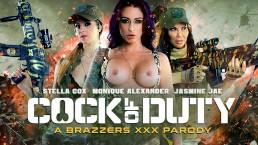 Cock of Duty (A XXX Parody - Brazzers