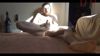 Shows feet thedudewhosadude his off hairy toe