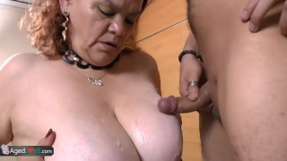 Agedlove bbw with granny young boy fucks latina old boy