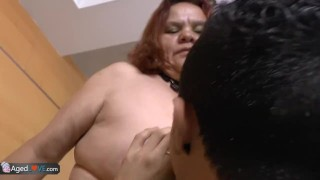 Fucks young granny bbw latina boy with agedlove old sucking