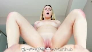MyVeryFirstTime Aubrey Sinclair fucks her step brother for the first time