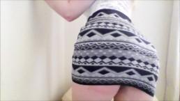Teen Home Alone Striptease ASMR