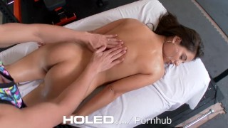 Preview 4 of HOLED - Jynx Maze big booty takes a healthy anal creampie