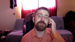 Thedudewhosadude puts snot, spit, and cum in his hair