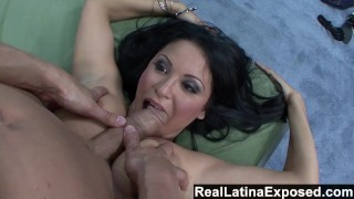 RealLatinaExposed - Sophia loves a big cock sliding between her big tits Doggystyle tits