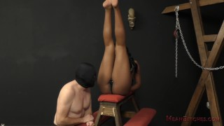 Mocha Menage and her Whiteboy slave
