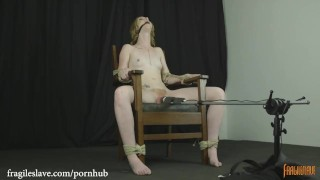 Katy Kiss Chair Tied and Cumming