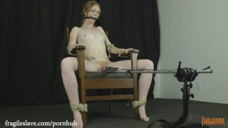 Tied chair kiss katy and cumming drooling hitachi