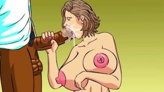 Big tit tattoo'ed Emo Teen conquered by big black cock