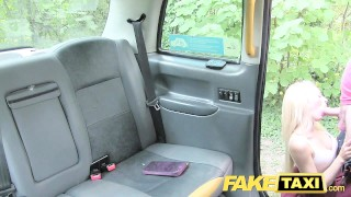 FakeTaxi Tiny blonde loves big dick porno