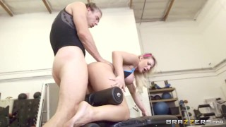 Carter at the fucked cali brazzers gets gym tight blonde