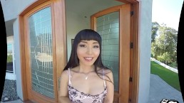 VR 180 Stereoscopic tmwVRnet & Alexis Crystal - VR Bagning With a Maid