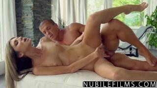 NubileFilms - Babe Gina Gerson Fucks Roommates Man