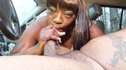 Super Hot Films : Sucking cock in the truck..... Lisa Rivera vs Don Whoe