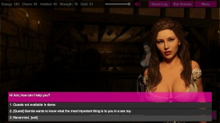 Let's Play High Tide Harbor 3D Sex Game Playthrough! Out Now at Affect3D Black masturbate