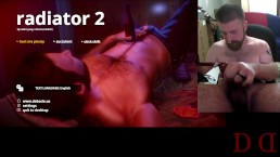 "Thedudewhosadude jerks off to ""Radiator 2"" video game!"