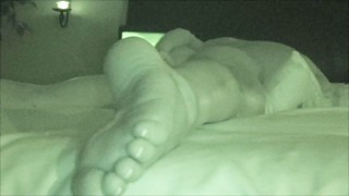 WIFE MASTURBATING WATCHING PORN MULTIPLE ORGASMS NIGHT VISION