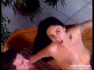 Eva Hot Gives Her Man a Wild Fuck After A Massage