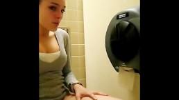 My Ex Masturbating At The Mall Bathroom