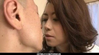 Maki Hojo gets cock to devour each of her holes  hardcore-action cock-sucking dick-riding kissing pussy-licking doggy-style bedroom busty pussy-creampies hairy-pussy pussy hot-milf creamed-pussy heymilf