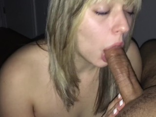 Slutty Teen Sucks Cock and Swallows! HD!