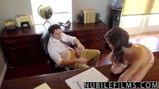 NubileFilms - Sexy Brunette Twerkin On Dick videos nubilefilms young hardcore gia-paige riding-dick blowjob babe shaved cumshot small-tits brunette cowgirl big-dick skinny ass-licking petite