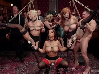 Whore Wife Fucked Fantastically Fevered Folsom Orgy