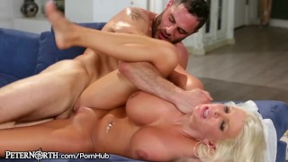 New Stepmom is Slutty and Has Huge Tits  step-son milf hardcore mom blonde shaved peternorth mother big-boobs big-tits step-mother reverse-cowgirl step-mom