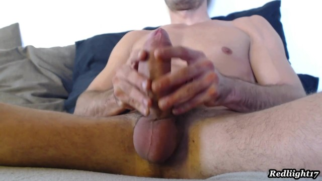 Guy Jerking Off Watching Porn