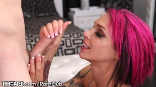 To tease throated peaks annabelle loves tits fuck