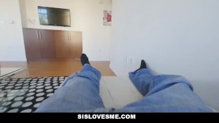 Preview 5 of SisLovesMe - Lil StepSis Twerks For Me