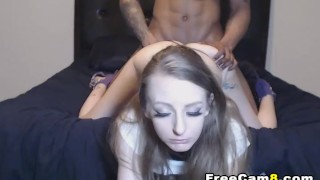 Amateur Sex with her Black Boyfriend