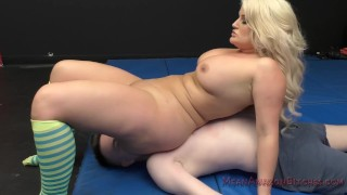 Julie Cash Ass Worship and Facesitting  big ass big tits facesitting femdom blonde chubby fetish hardcore kink curvy kinky butt assworship big butt rough sex bigbooty
