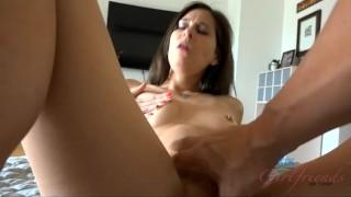 Make and mouth hands castle's cum talented you kacie hot brunette hot