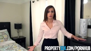 Fucks ass agent real estate sexy with to big job boss propertysex keep estate pov