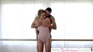 Screen Capture of Video Titled: PetiteBallerinasFucked - Teen Dancer Fucked By Instructor