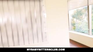 MyBabySittersClub - Babysitter Thief Fucked To Keep JoB Natural pussy