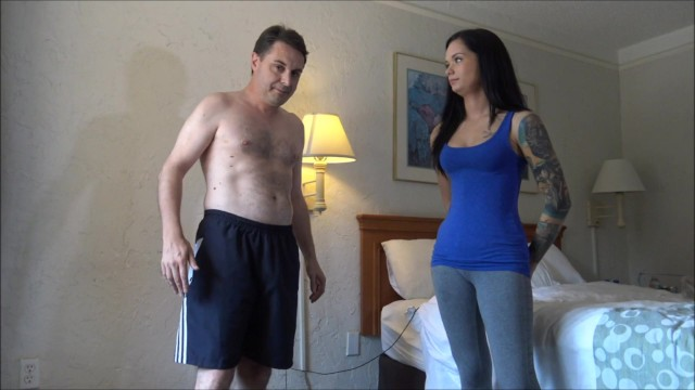 Andrea pantyhose - Ballbusting: goddess maria marley destroys the testicles of andrea dipre